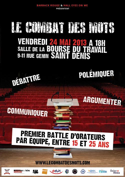 L'association IDEES représentée au concours «LE COMBAT DES MOTS»